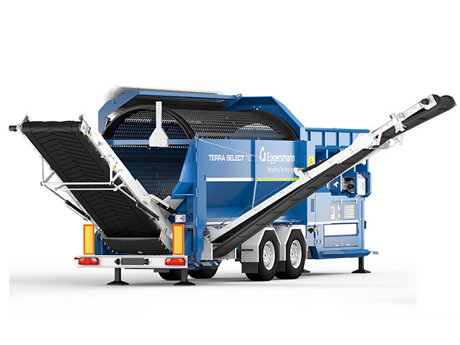 Preview of a Mobile Screening Plant from Terra Select